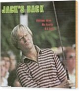 Jack Nicklaus, 1980 Us Open Sports Illustrated Cover Wood Print