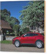 Jaguar E-pace Wood Print