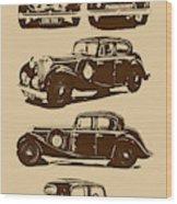 Jaguar Mark Iv Ss 2.5 Saloon Wood Print