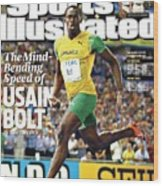 Jamaica Usain Bolt, 2009 Iaaf World Championships In Sports Illustrated Cover Wood Print