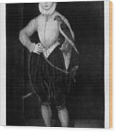 James I As A Boy, 1907 Wood Print