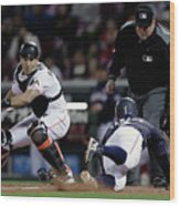 Japan V Mlb All Stars  - Game 4 Wood Print