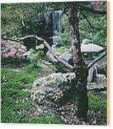 Japanese Garden, U Of Mn Landscape Wood Print