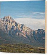 Jasper Valley Wood Print
