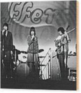Jefferson Airplane At The Fillmore East Wood Print