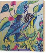 Jens Jungle Wood Print
