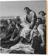 Jerusalem Hath Grievously Sinned Wood Print