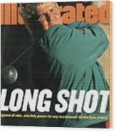 John Daly, 1995 British Open - Final Round Sports Illustrated Cover Wood Print