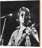 John Lennon. Performing At Th One To Wood Print