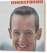 John Sellers, Horse Racing Jockey Sports Illustrated Cover Wood Print