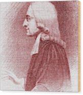 John Wesley, Anglican Minister And Christian Theologian Wood Print