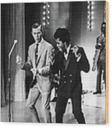 Johnny Carsonjames Brown Wood Print