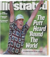 Justin Leonard, 1999 Ryder Cup Sports Illustrated Cover Wood Print