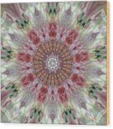 Kaleidoscope Valentine  Wood Print