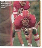 Kansas City Chiefs Qb Len Dawson, Super Bowl Iv Sports Illustrated Cover Wood Print