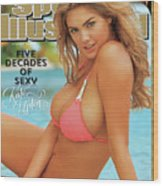 Kate Upton Swimsuit 2014 Sports Illustrated Cover Wood Print