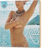 Kate Upton Swimsuit 2017 Sports Illustrated Cover Wood Print