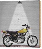 Kawasaki Z1 Wood Print