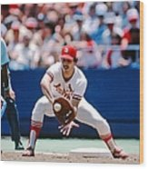 Keith Hernandez St. Louis Cardinals Wood Print