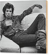 Keith Richards Portrait Session Wood Print