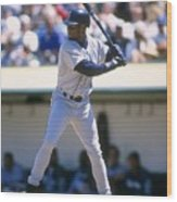 Ken Griffey Jr. Mariners Wood Print