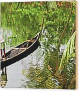 Kerala Backwaters Wood Print