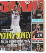 Kevin Durant: Young Money SLAM Cover Wood Print