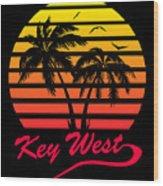 Key West Wood Print