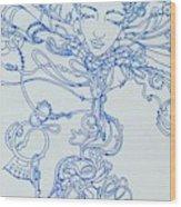 Keys To The Garden Wood Print