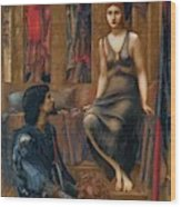 King Cophetua And The Beggar Maid 1884 Wood Print