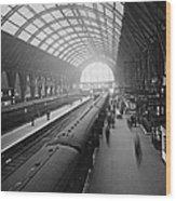 Kings Cross Station Wood Print