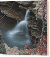 Kings River Falls Wood Print