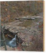 Kings River Waterfall Wood Print