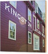 Kingston Flour Mill House Wood Print