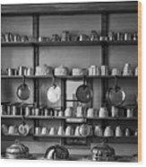Kitchen Accessories, Saffron Walden Wood Print