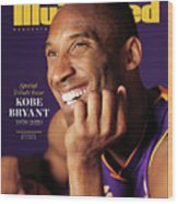 Kobe Bryant 1978 - 2020 Special Tribute Issue Sports Illustrated Cover Wood Print