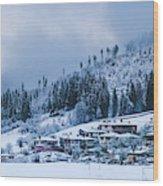 Koprivshtica Winter Panorama Wood Print