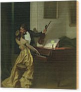 Kreutzer Sonata, 19th Century Wood Print