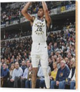 La Clippers V Indiana Pacers Wood Print