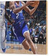 La Clippers V Orlando Magic Wood Print