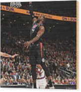 La Clippers V Toronto Raptors Wood Print