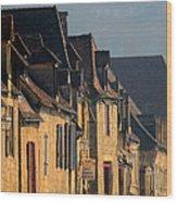 La Roque-gageac Wood Print