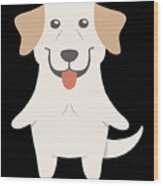Labrador Retriever Gift Idea Wood Print