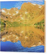 Lake Isabelle, Revisited Wood Print