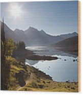 Lake Maligne - Jasper National Park Wood Print