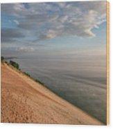 Lake Michigan Overlook 11 Wood Print
