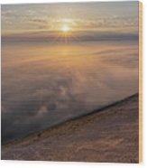 Lake Michigan Overlook 13 Wood Print