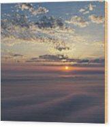 Lake Michigan Overlook 15 Wood Print