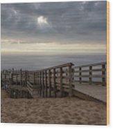 Lake Michigan Overlook 6 Wood Print