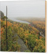 Lake Of The Clouds 9 Wood Print